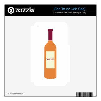 Wine Bottle iPod Touch 4G Skin