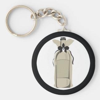Wine Bottle Key Chain