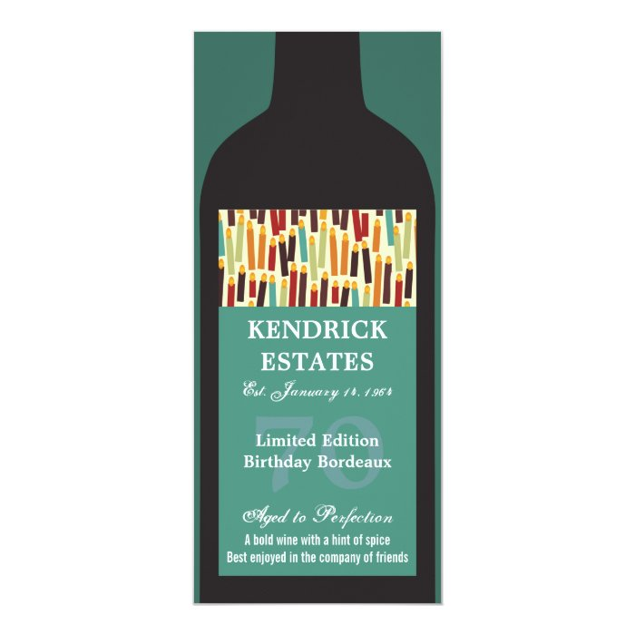 wine bottle party invitation zazzle. Black Bedroom Furniture Sets. Home Design Ideas
