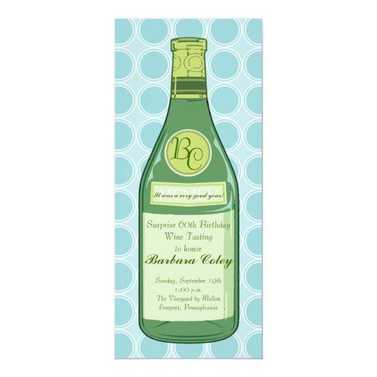 wine bottle rings party shower invitation. Black Bedroom Furniture Sets. Home Design Ideas
