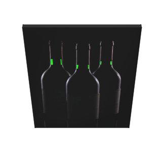 WINE BOTTLES CANVAS PRINT