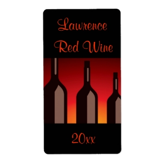 Wine Bottles Homemade Wine Label