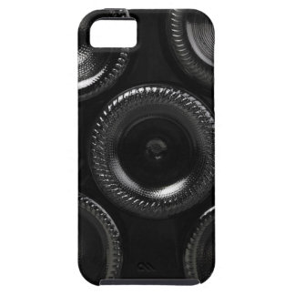 Wine bottles in a wine cellar. Only the bottom iPhone 5 Cases