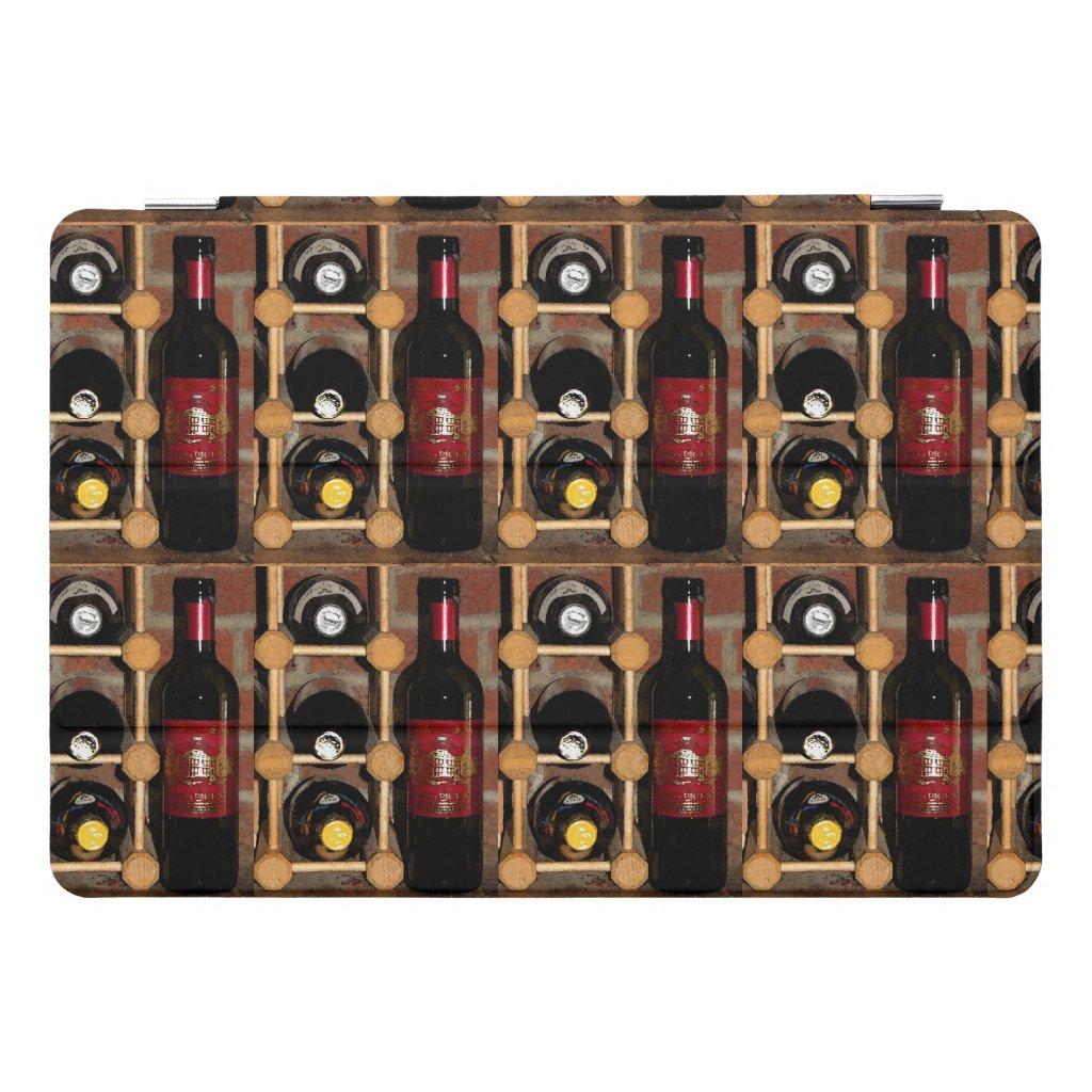 Wine Bottles in Rack 10.5 iPad Pro Case