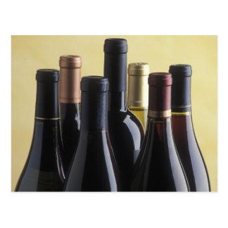 Wine Bottles Post Card