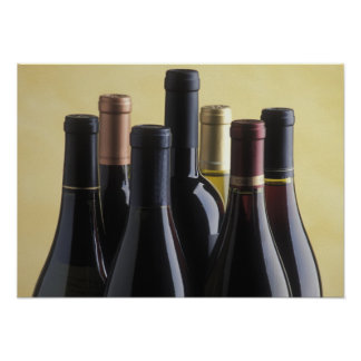 wine bottles posters