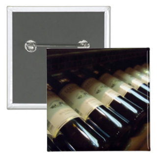 Wine Bottles Winery Photograph Wine tasting magnet Pinback Button