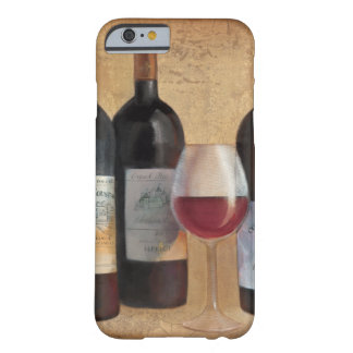 Wine Bottles with Glass Barely There iPhone 6 Case