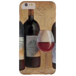 Wine Bottles with Glass Barely There iPhone 6 Plus Case