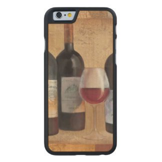 Wine Bottles with Glass Carved® Maple iPhone 6 Case