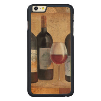 Wine Bottles with Glass Carved® Maple iPhone 6 Plus Slim Case