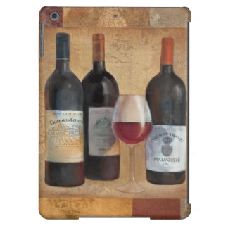 Wine Bottles with Glass iPad Air Case
