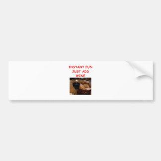 wine bumper stickers