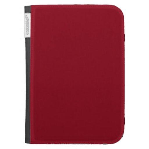 Wine Burgundy Dark Blood Red Color Only Kindle Keyboard Case