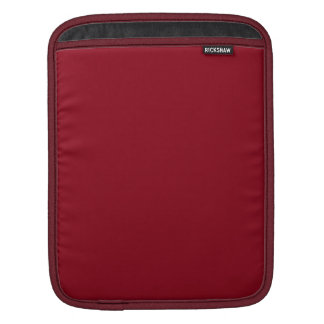 Wine Burgundy Dark Blood Red Color Only iPad Sleeve