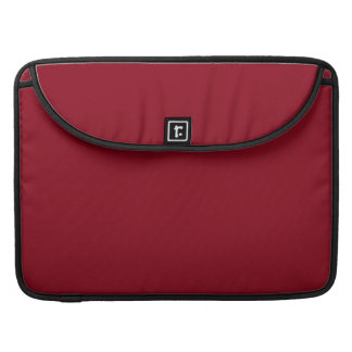 Wine Burgundy Dark Blood Red Color Only Sleeves For MacBook Pro