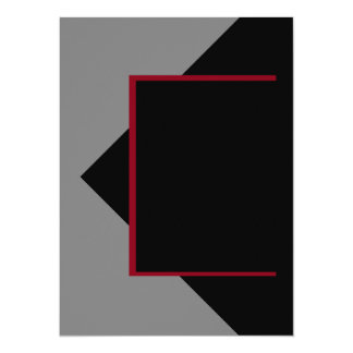Wine Burgundy Dark Red Grey Gray Color Only Tools Card