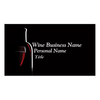 Wine Business Business Card