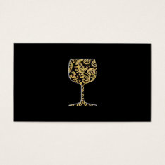 Wine Business Card at Zazzle