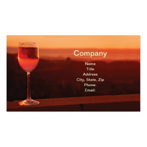 Wine business cards zazzle for Wine business cards