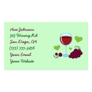Wine Business Cards