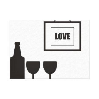 """Wine"" Canvas Print"