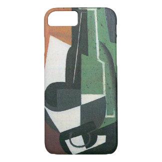 Wine Carafe Bottle by Juan Gris, Vintage Cubism iPhone 7 Case