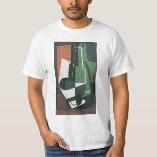 Wine Carafe Bottle by Juan Gris, Vintage Cubism T-Shirt