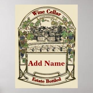 Wine Cellar, add name