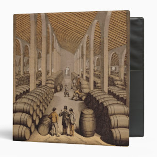 Wine Cellar at Jerez de la Frontera 3 Ring Binder