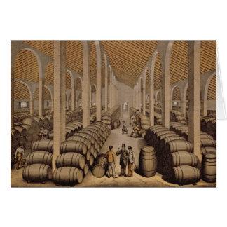 Wine Cellar at Jerez de la Frontera Card