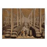 Wine Cellar at Jerez de la Frontera Greeting Card