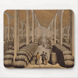 Wine Cellar at Jerez de la Frontera Mouse Pad