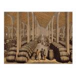 Wine Cellar at Jerez de la Frontera Postcards