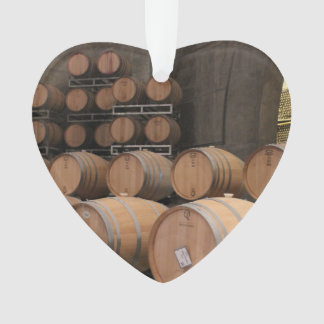Wine Cellar Barrel Stacks Ornament