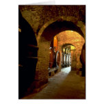Wine cellar in Montepulciano, Tuscany, Italy Cards