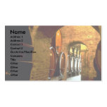 Wine cellar in Montepulciano, Tuscany, Italy Double-Sided Standard Business Cards (Pack Of 100)