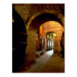 Wine cellar in Montepulciano, Tuscany, Italy Post Card