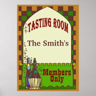 Wine Cellar Tasting Room Print