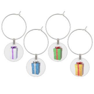 Wine Charms - Christmas Package Design