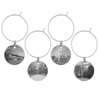 Wine Charms - Iconic New York City Images