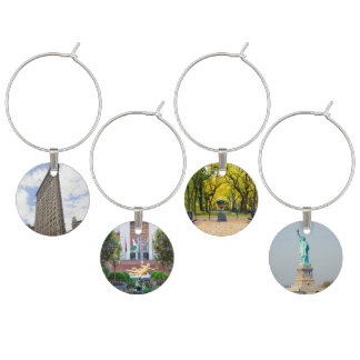 Wine Charms - Iconic New York Images