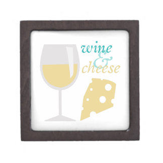 Wine & Cheese Keepsake Box