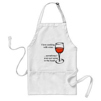 Wine Chef! Adult Apron