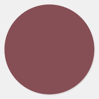 Wine Classic Round Sticker