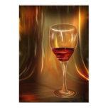 "wine cocktail party invitations 5"" x 7"" invitation card"