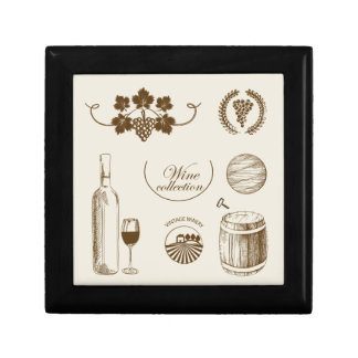 Wine Collection Keepsake Box