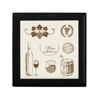 Wine Collection Keepsake Box