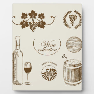 Wine Collection Plaque