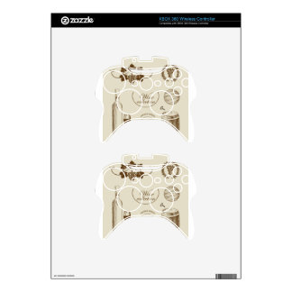 Wine Collection Xbox 360 Controller Decal